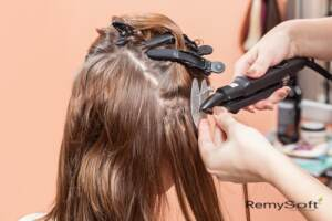 Learn how to care for hair extensions.