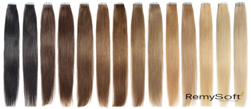 RemySoft shiny hair extensions